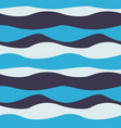 seamless abstract wave pattern wavy background vector image vector image