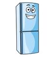 Fridge-freezer or refrigerator kitchen appliance vector image
