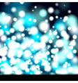 Glowing abstract banner vector image