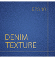 jeans texture vector image