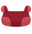 baby car seat group 3 front view isolated on a vector image vector image