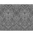 Geometric seamless pattern transformer vector image