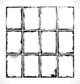 Grunge Frames Collection vector image