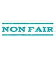 Non Fair Watermark Stamp vector image vector image
