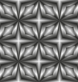 Pattern tiles in monochrome of the stars vector image vector image