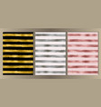 stripe cover set vector image vector image