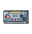 videogame console toplay and enjoy vector image vector image