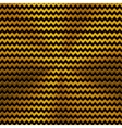 Background with Zigzag Pattern and Gold Texture vector image vector image