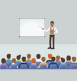 business people meeting in conference room vector image vector image
