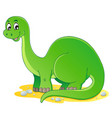 dinosaur theme image 1 vector image