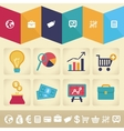 infographic design element in flat style vector image