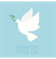 international day peace symbol poster vector image