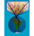 overpopulation vector image
