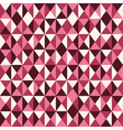 pattern low poly pink vector image vector image