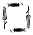 pigweed wheat icon simple style vector image vector image