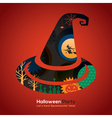 Halloween Party witch hat vector image