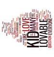 are you lovable text background word cloud concept vector image vector image