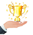Award Winner vector image vector image
