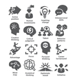 Business management icons Pack 19 vector image vector image