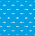 fresh meat product pattern seamless blue vector image