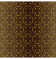 seamless geometric pattern with shades of brown vector image vector image