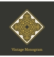 vintage ornament vector image vector image