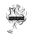 Abstract logo fashion patterns vector image vector image