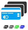 banking cards flat icon