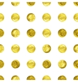 gold Confetti glitter background vector image