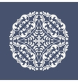 Round vintage ornament vector image vector image
