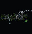the last piece of chocolate ever business tips vector image vector image