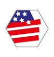 us emblem icon on a white background vector image