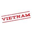 Vietnam Watermark Stamp vector image