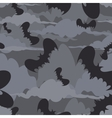 Seamless Halloween pattern with bats vector image