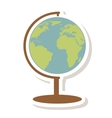 word planet isolated icon vector image