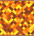 brown and yellow seamless pattern vector image vector image