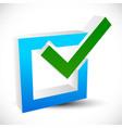 check mark check box icon editable vector image