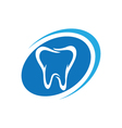 Dental logo Template vector image vector image