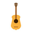 guitar flat vector image vector image