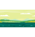 Meadows Game Background Landscape vector image vector image