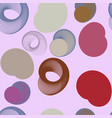seamless background abstract geometric circles or vector image vector image