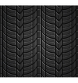 Wheel tire seamless pattern vector image vector image