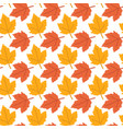 autumn background maple leaves pattern imag vector image vector image