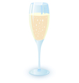 champagne alcohol cocktail vector image vector image