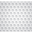 Golf ball seamless pattern vector image vector image