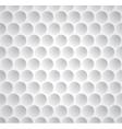 Golf ball seamless pattern vector image