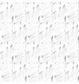 Hatch ink imitation seamless pattern vector image