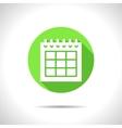 calendar icon Epsflat0 vector image vector image