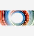 rainbow fluid abstract swirl shape twisted liquid vector image vector image