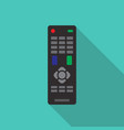 remote control in flat style vector image
